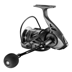 YUYA Spinning Fishing Reel 5000 for Freshwater or Saltwater with 8+1ball Bearing Corrosion Resistant Stainless Steel Ball Bearings and Light Weight Ul