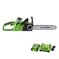 "Best Partner 40V Max Lithium-Ion Brushless Cordless 14"" Chain Saw,4.0AH Battery and Charger Include"