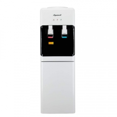 AQUAWELL Water Dispenser, 5 Gallon Top Loading Hot & Cold Water  Cooler Dispenser, Freestanding with Storage Cabinet, Compression Refrigeration Techno