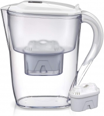 Homeleader Water Filter Pitcher, 10 Cup Purifier with Electronic Filter Indicator, 1 Standard Filter, BPA Free, Technology for Superior Filtration & T